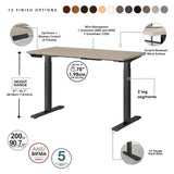 Move 60 Series by 72W x 30D Height Adjustable Standing Desk