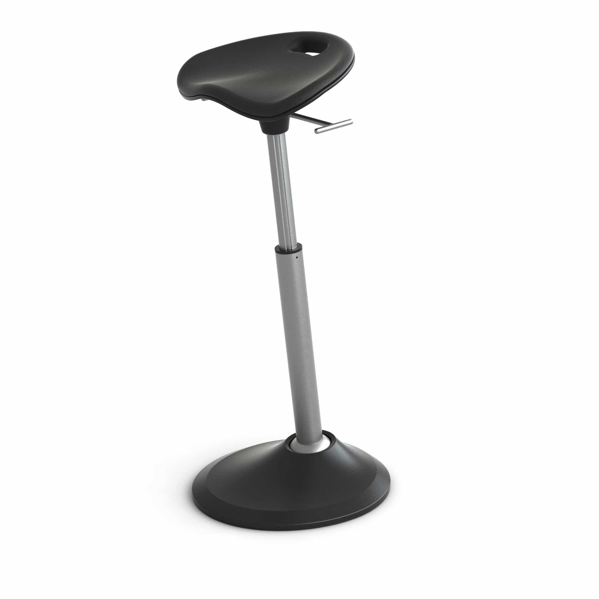 bedinhome - FFS-1000-BK Mobis® Martin Keen Designed Office Standing Flexibility Nylon Matte Black Seat by Focal Upright™ - Safco - Mobis Seat