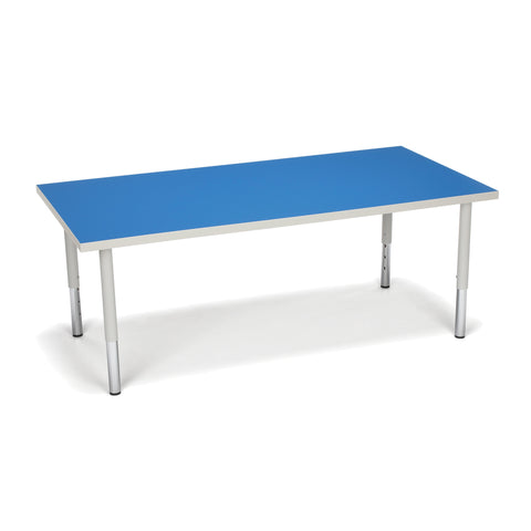 "Adapt Series 60"" W x 30"" D Student 18""-26"" Height Rectangle Table"