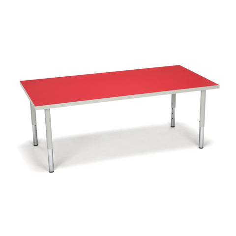 "Model RECT-SL Adapt Series Student 18""-26"" Height Rectangle Table"