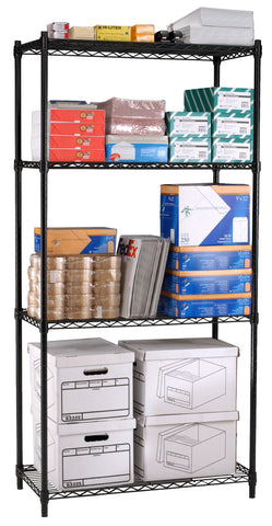 Ofminc Model S487218 Complete 4-Tier Shelving Unit 48 Inch