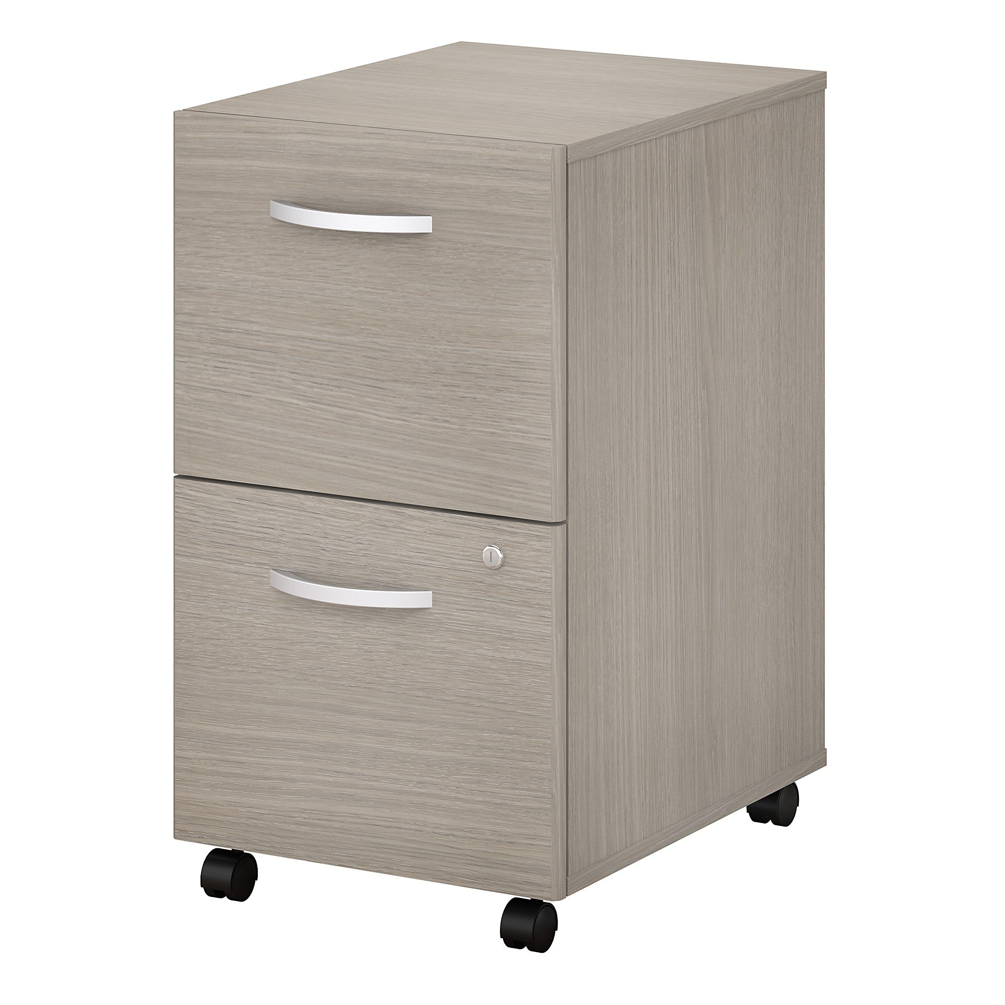 Studio C 2 Drawer Mobile File Cabinet -Sand Oak