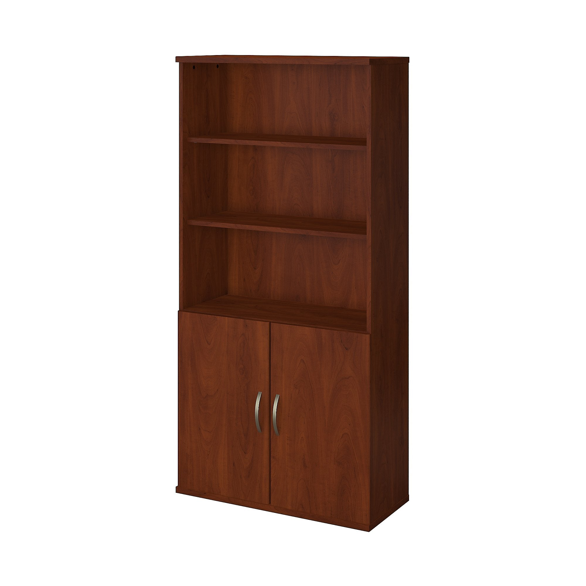 Bush Business Furniture Series C Elite 36W 5 Shelf Bookcase with Doors