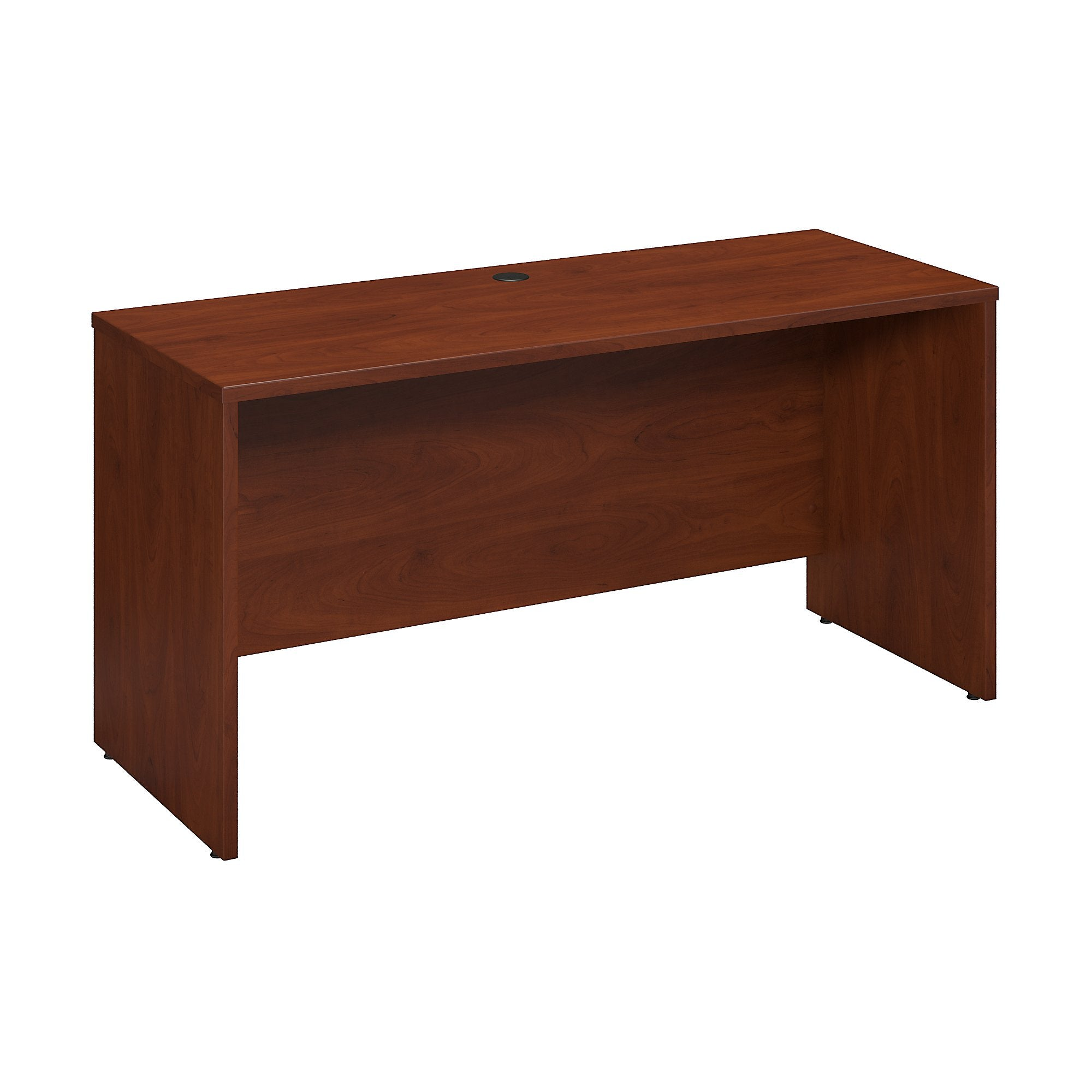 Bush Business Furniture Hansen Cherry Series C Elite 60W x 24D Desk/Credenza/Return