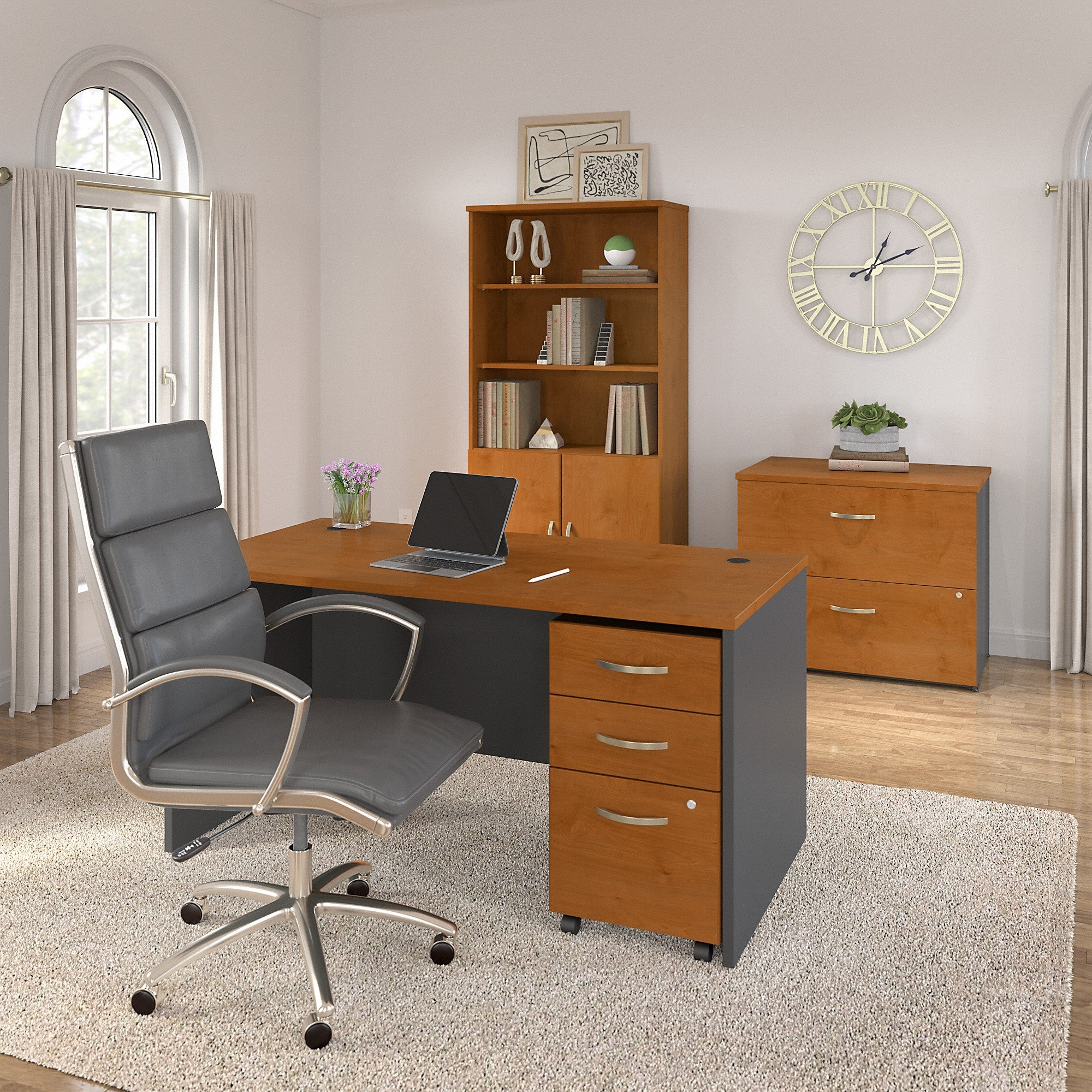 Bush Business Furniture Series C 60W x 30D Office Desk