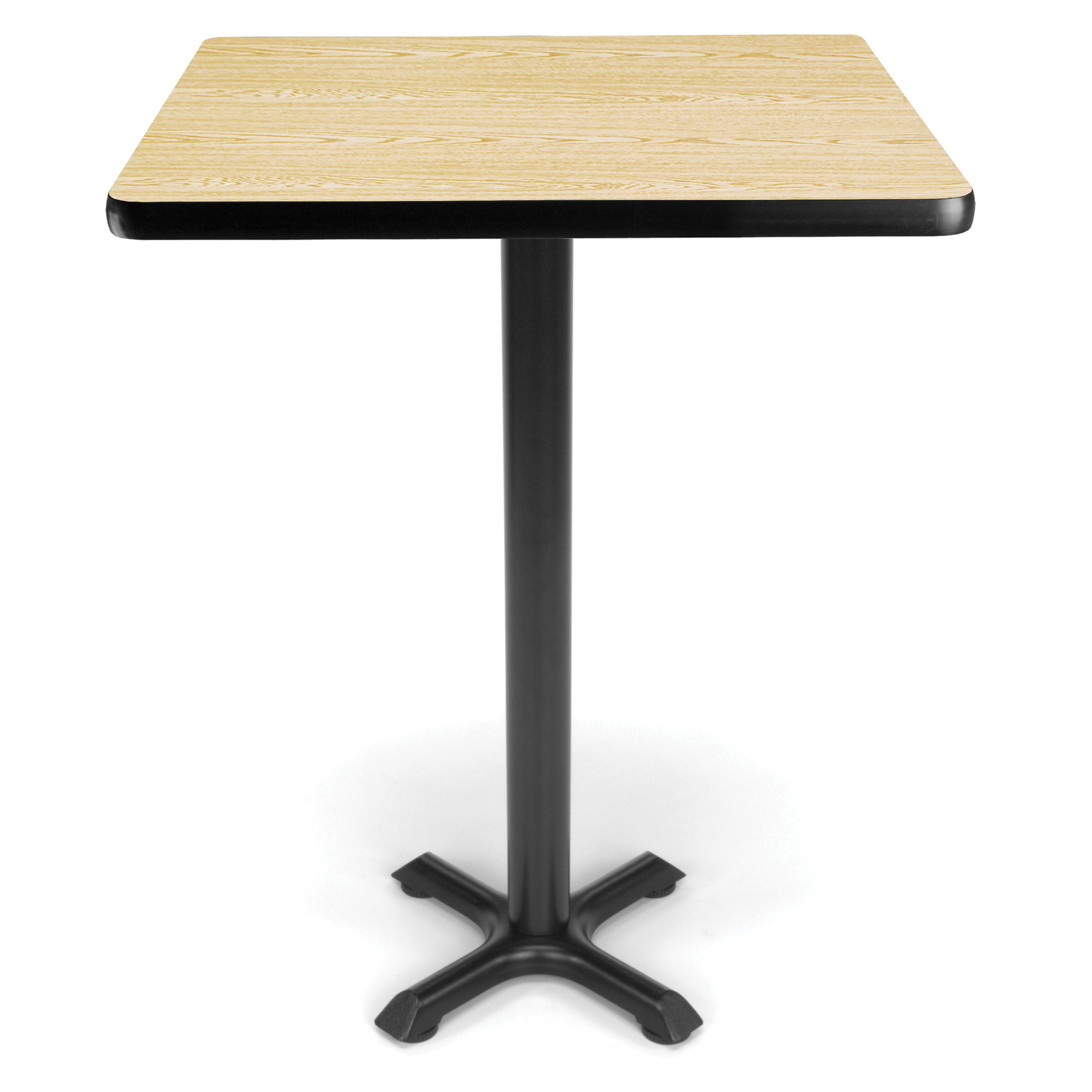 Ofminc Model XTC30SQ Square Cafe Height Table with X Base 30 Inch