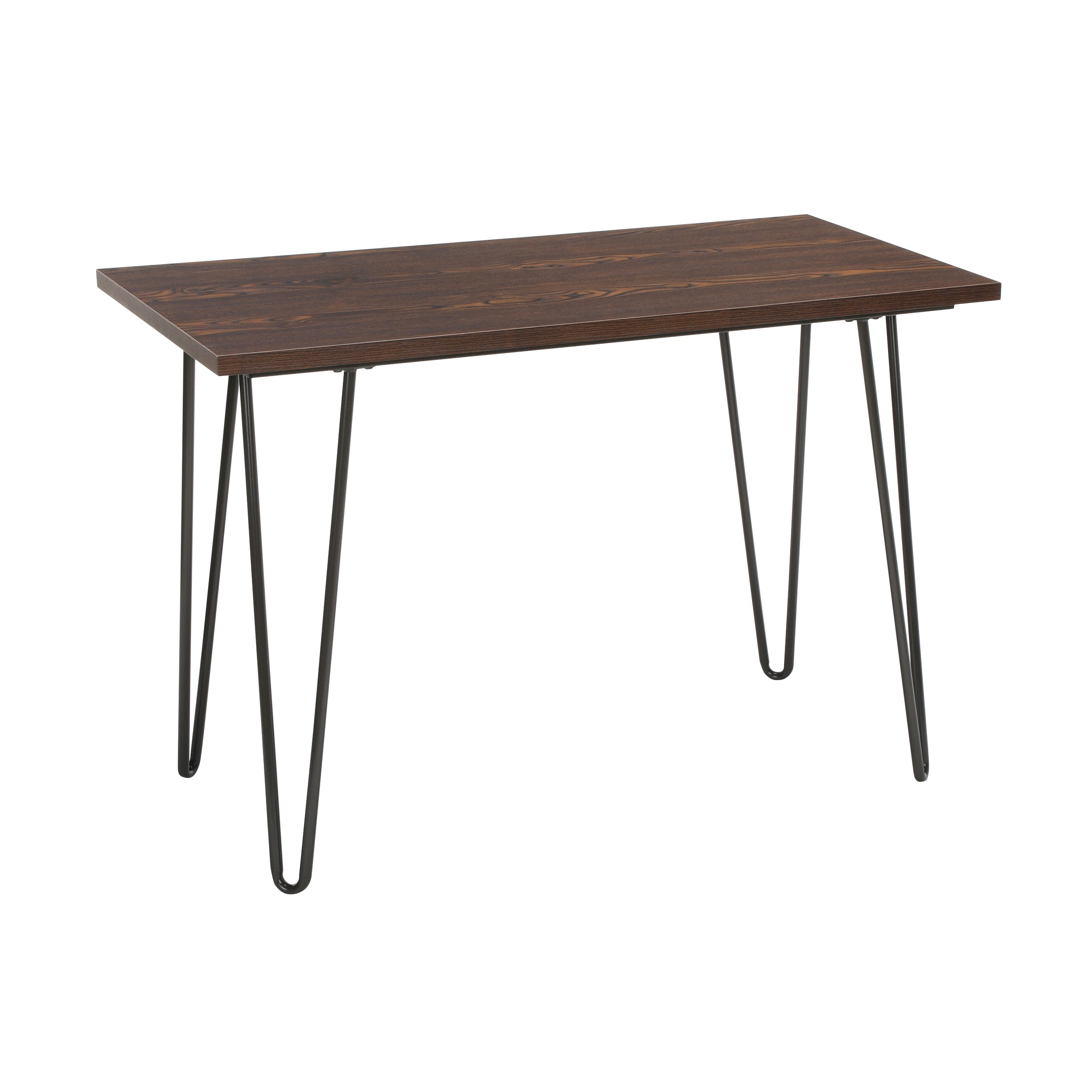 "44"" Home Retro Desk, Writing Desk with Hairpin Legs"