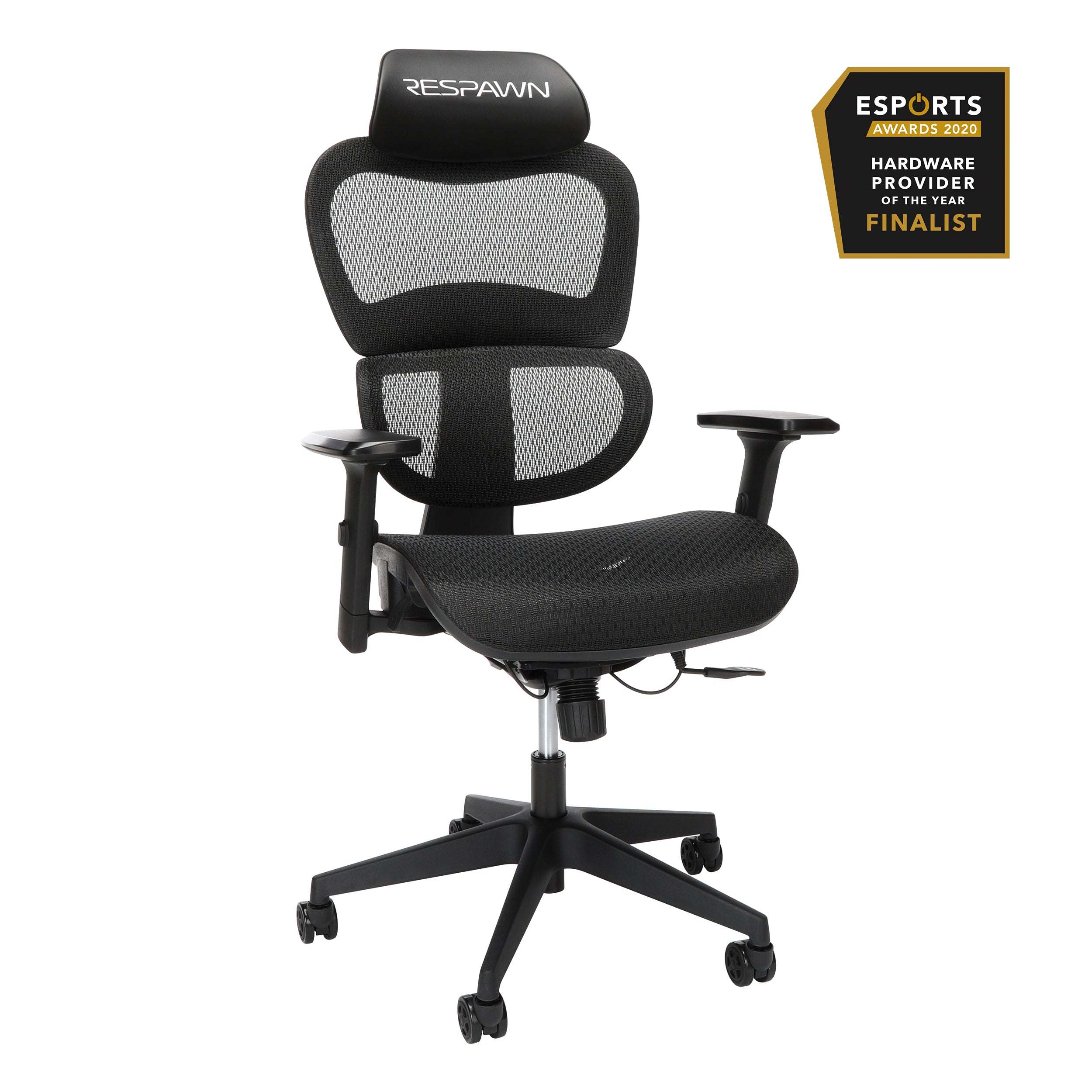 OFM RESPAWN Specter Full Mesh Ergonomic Gaming Chair Onyx