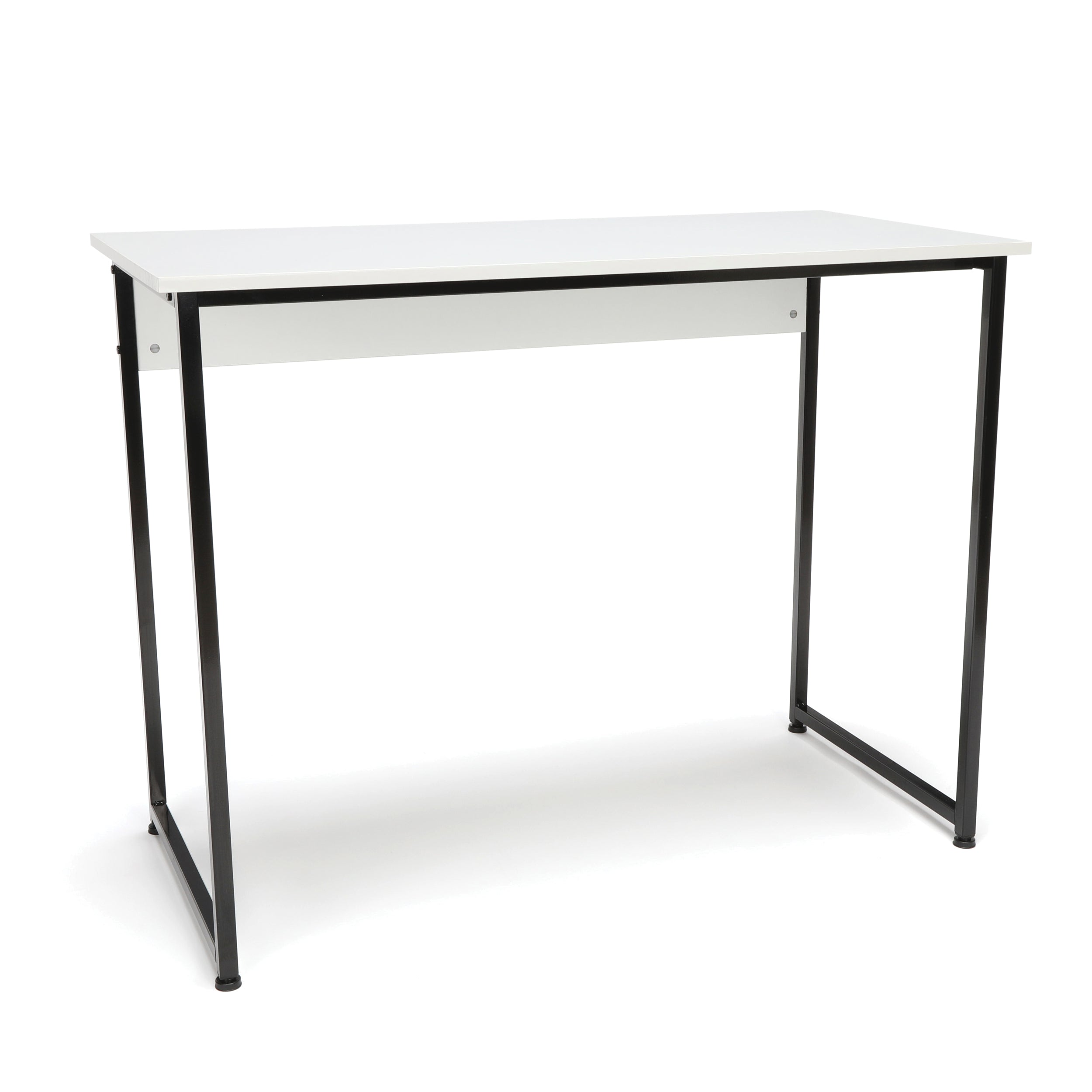 Essentials Collection Computer Desk & Workstation with Metal Legs