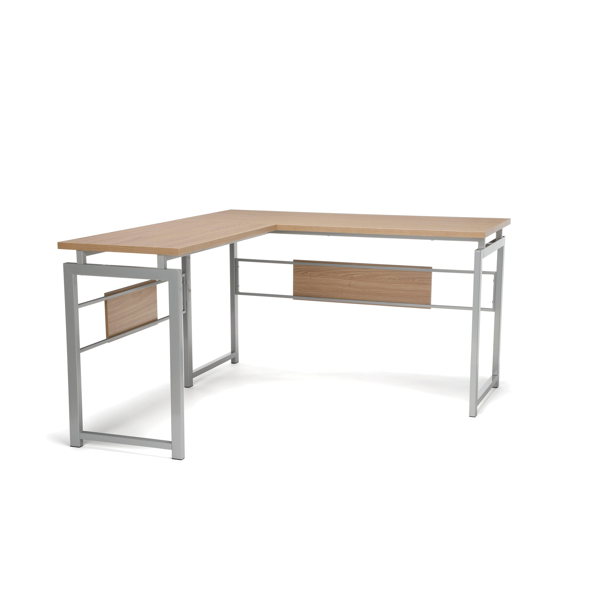 OFM Essentials Collection ESS-1020 L Desk with Metal Legs