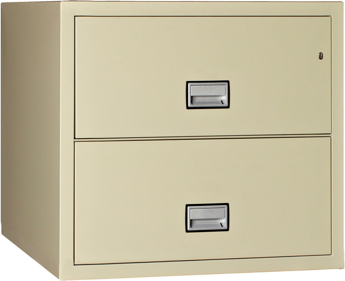 Lateral 31 inch 2-Drawer Fire & Water Resistant File Cabinet
