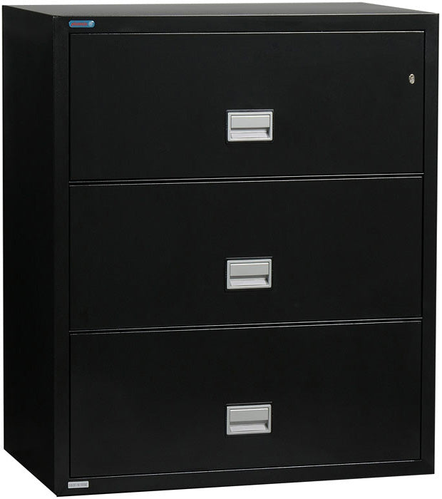 Lateral 31 inch 3-Drawer Fire & Water Resistant File Cabinet
