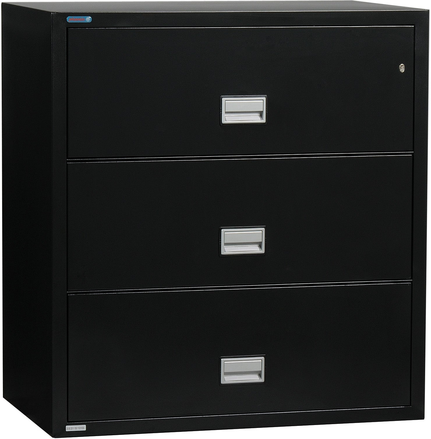 Lateral 38 inch 3-Drawer Fire & Water Resistant File Cabinet