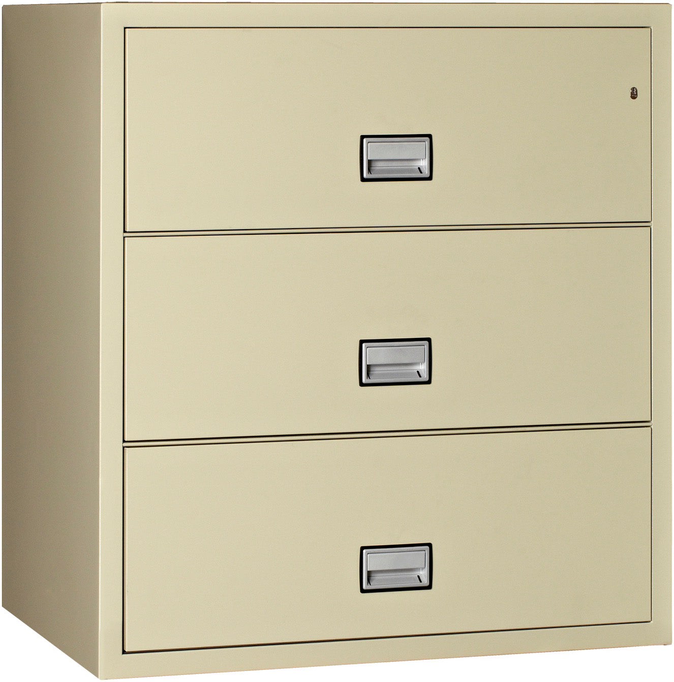 Lateral 44 inch 3-Drawer Fire & Water Resistant File Cabinet