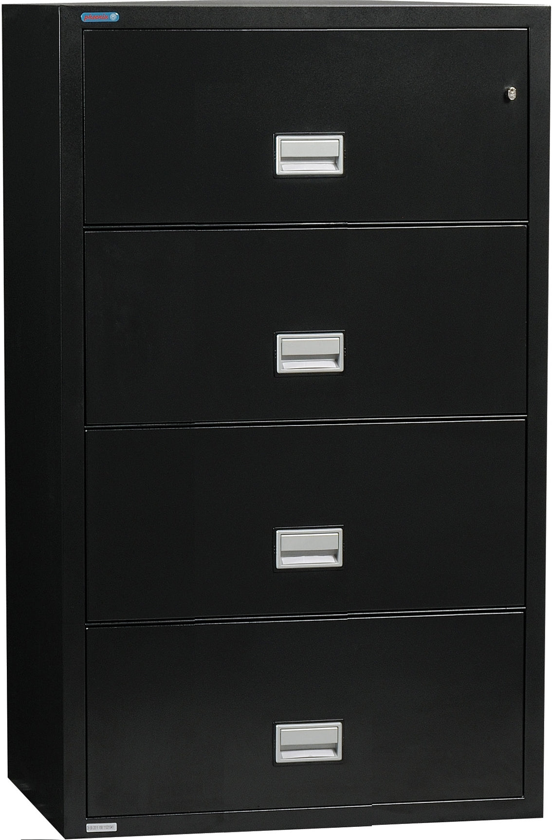 Lateral 31 inch 4-Drawer Fire & Water Resistant File Cabinet