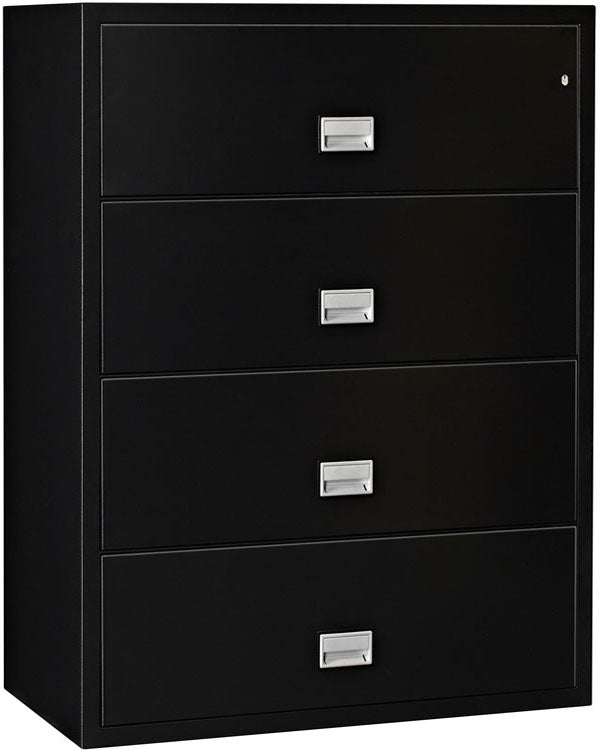 Lateral 38 inch 4-Drawer Fire & Water Resistant File Cabinet