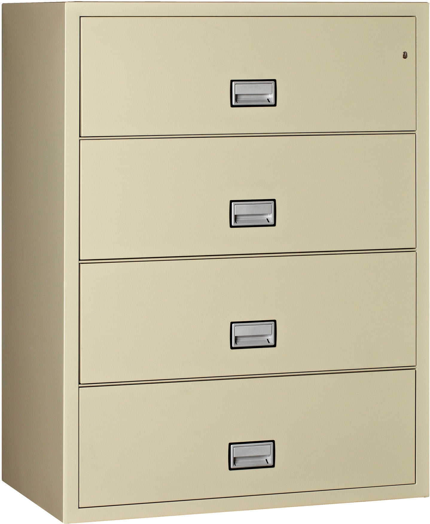Lateral 44 inch 4-Drawer Fire & Water Resistant File Cabinet