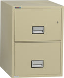 Vertical 31 inch 2-Drawer Legal Fire & Water Resistant File Cabinet