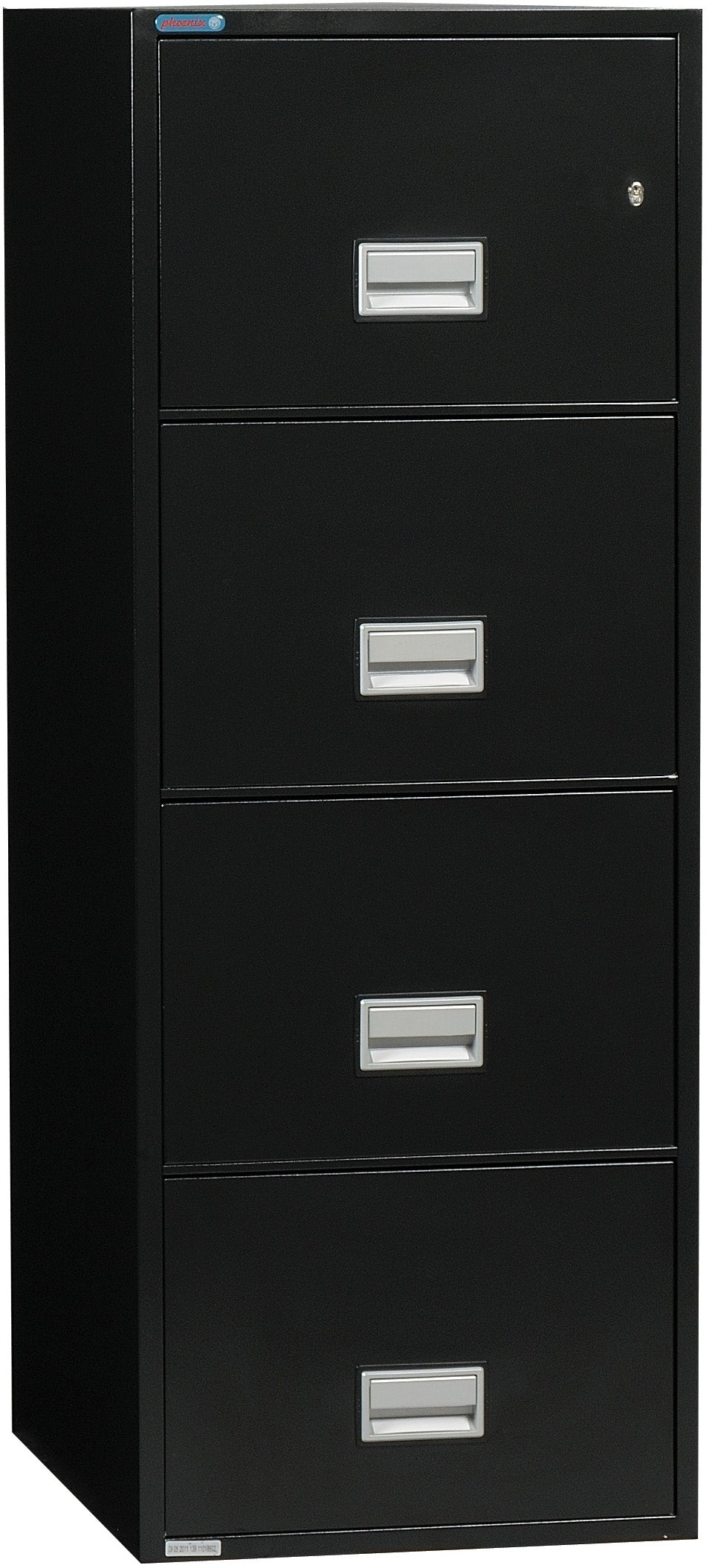 Vertical 31 inch 4-Drawer Legal Fire & Water Resistant File Cabinet