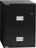 Vertical 31 inch 2-Drawer Letter Fire & Water Resistant File Cabinet