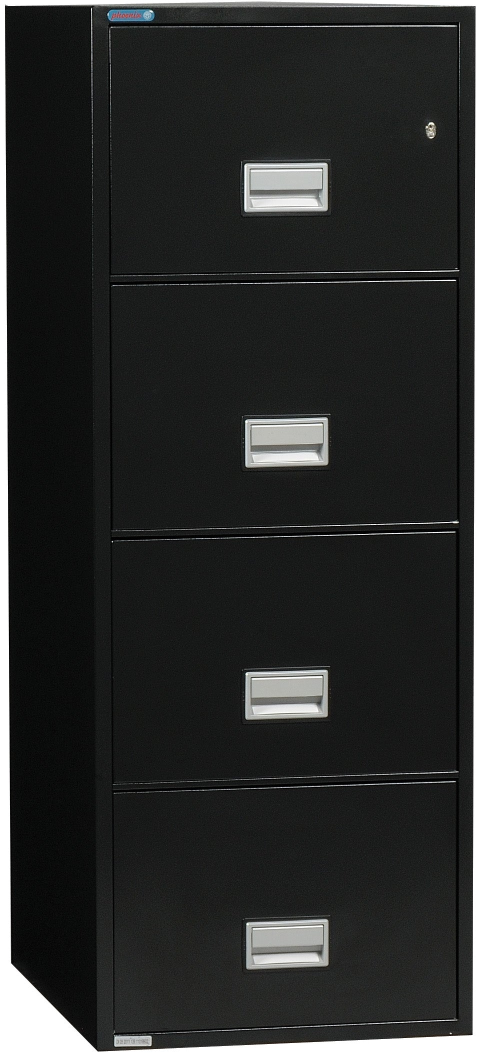 Vertical 31 inch 4-Drawer Letter Fire & Water Resistant File Cabinet
