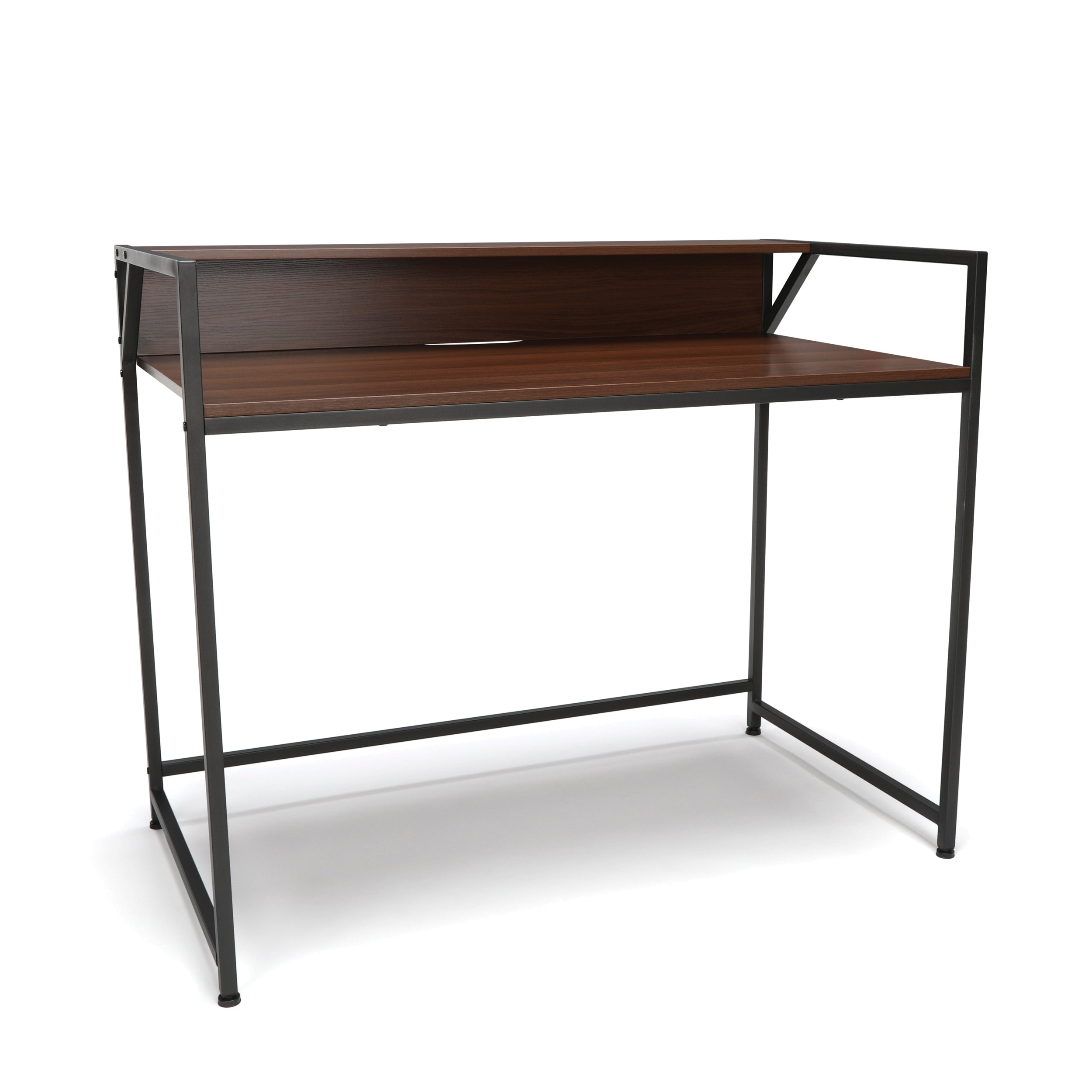 OFM Essentials Collection ESS-1003 Computer Desk with Shelf