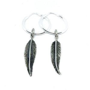 Fallen Feather Earrings