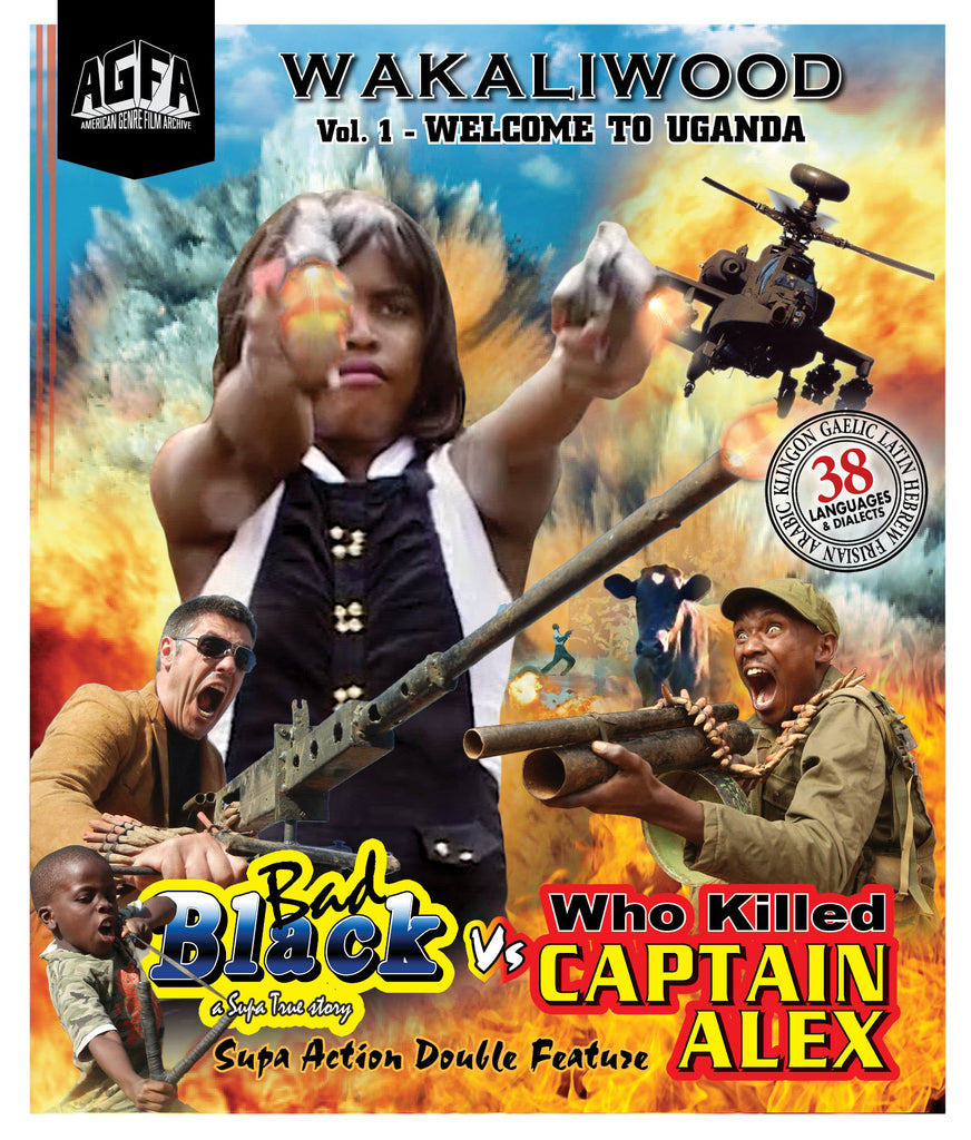 Supa Blu-Ray/DVD Combo!!  BAD BLACK + CAPTAIN ALEX!  Bonus Material!