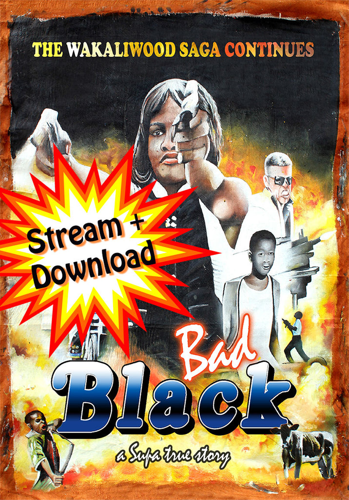 Bad Black - Stream Now! Download in 33 Languages!