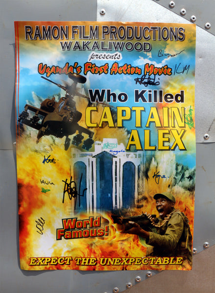 Signed! Captain Alex Poster
