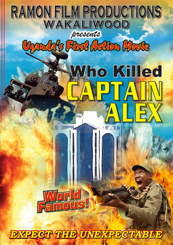 "Signed! ""Who Killed Captain Alex"" on DVD"