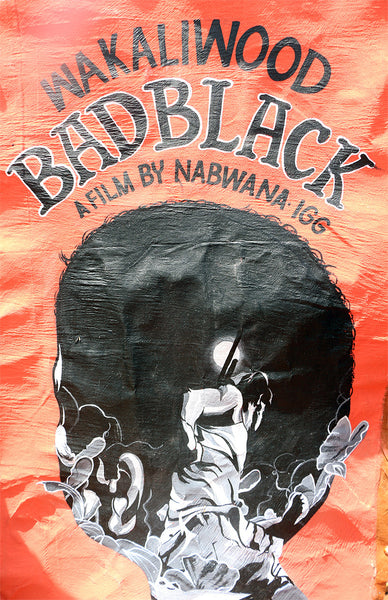 Hand Painted Poster! Bad Black (Alternative)