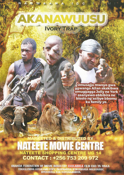 NEW MOVIE! The Ivory Trap! Signed DVD