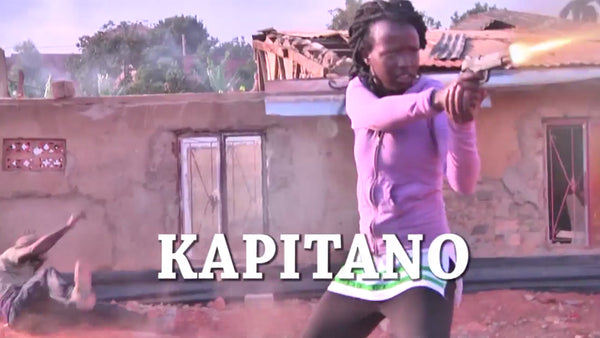 NEW MOVIE! Kapitano starring Bruce U! Signed DVD