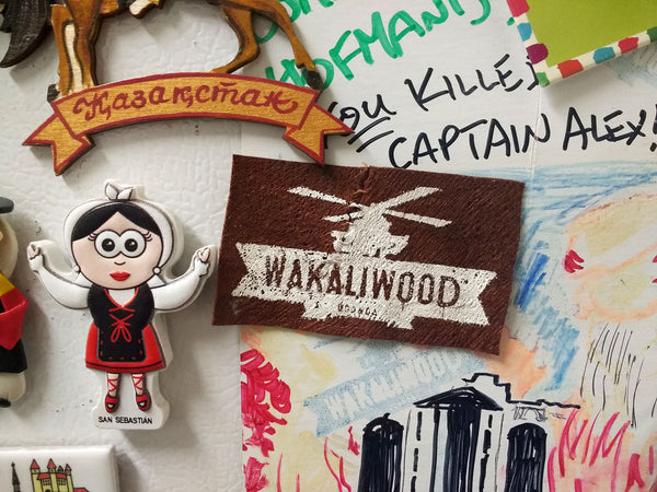 Wakaliwood Bark Cloth Magnet!