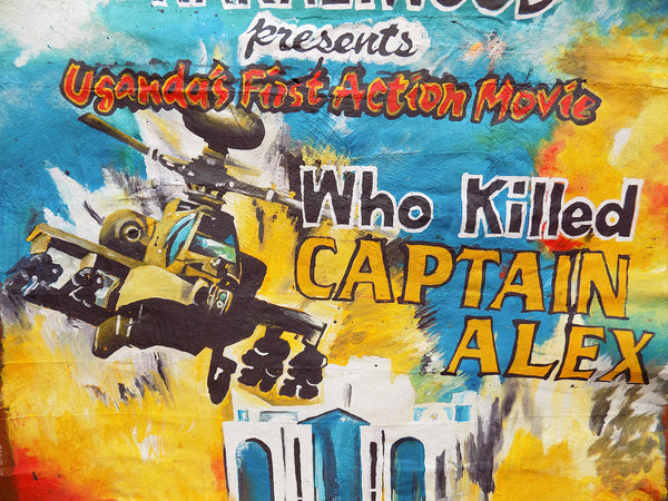 Hand-Painted Poster! Who Killed Captain Alex
