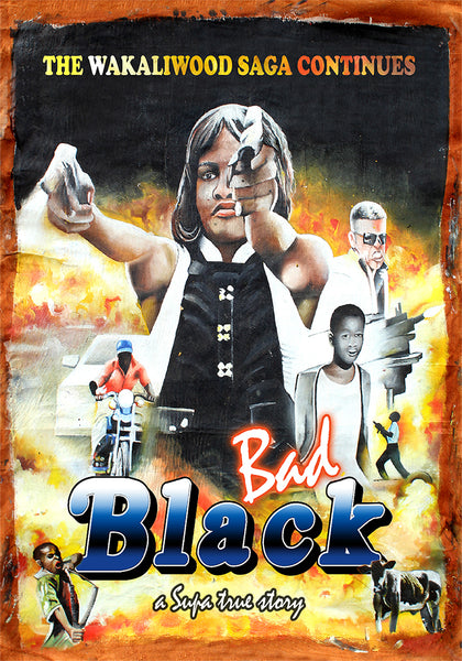 Signed DVD! BAD BLACK!