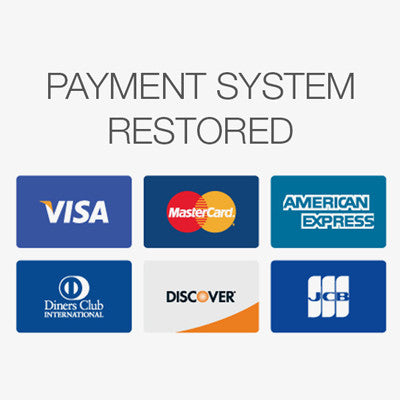 Payment System Restored