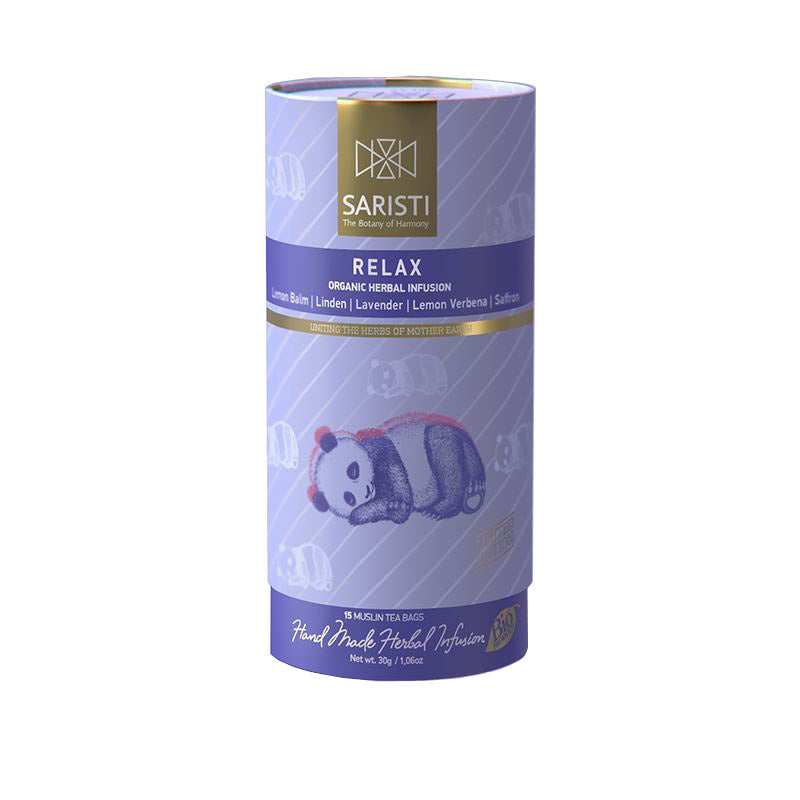 'Saristi' Organic Herbal Infusion - Relax - 30g