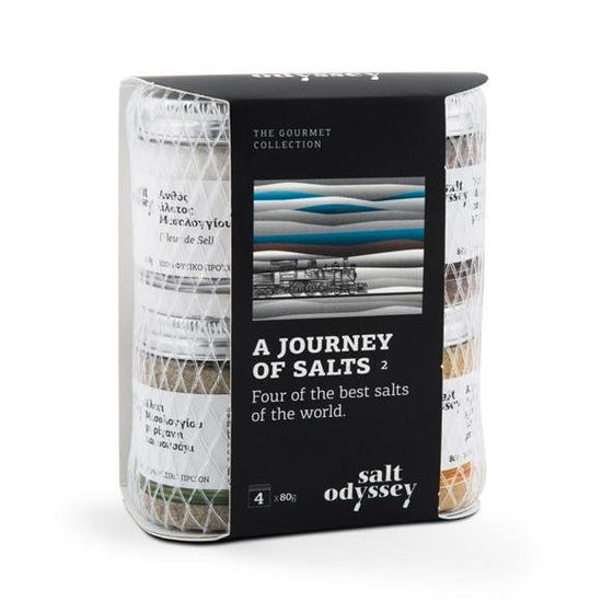 'Salt Odyssey' A Journey of Salts, World Collection -4x80g