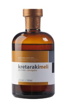 'I. Diamantakis - G. Stamatakis' Tsikoudia Kretaraki with Honey 'Rakomelo' - 500ml