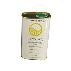 Cretan Extra Virgin Olive Oil in Tin Can Elegance Edition 'Elysian' - 500ml