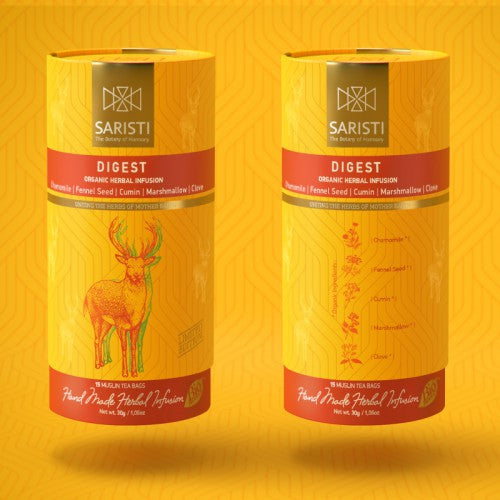 'Saristi' Organic Herbal Infusion - Digest - 30g