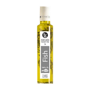 'Delicious Crete' Extra Virgin Olive Oil Infused for Fish - 250ml