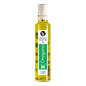 'Delicious Crete' Extra virgin Olive Oil infused with Oregano -250ml