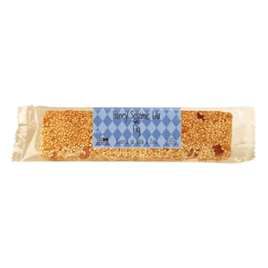 'Delicious Crete' Pasteli - Honey Sesame Bar with Fig  - 90g