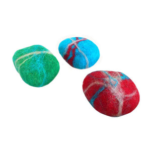 Handmade Natural Felted soap for body and face Rania K
