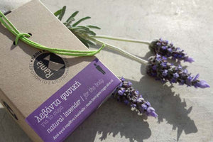 Handmade Natural Lavender Soap for body made from pure greek olive oil