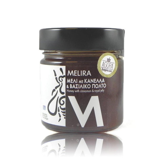 'Melira' Honey with Ceylon Cinnamon & Royal Jelly -280g