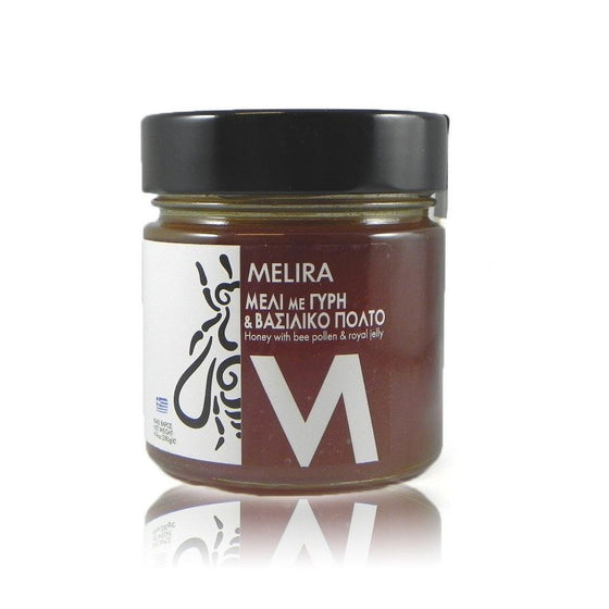 'Melira' Honey with Bee Pollen & Royal Jelly -280g